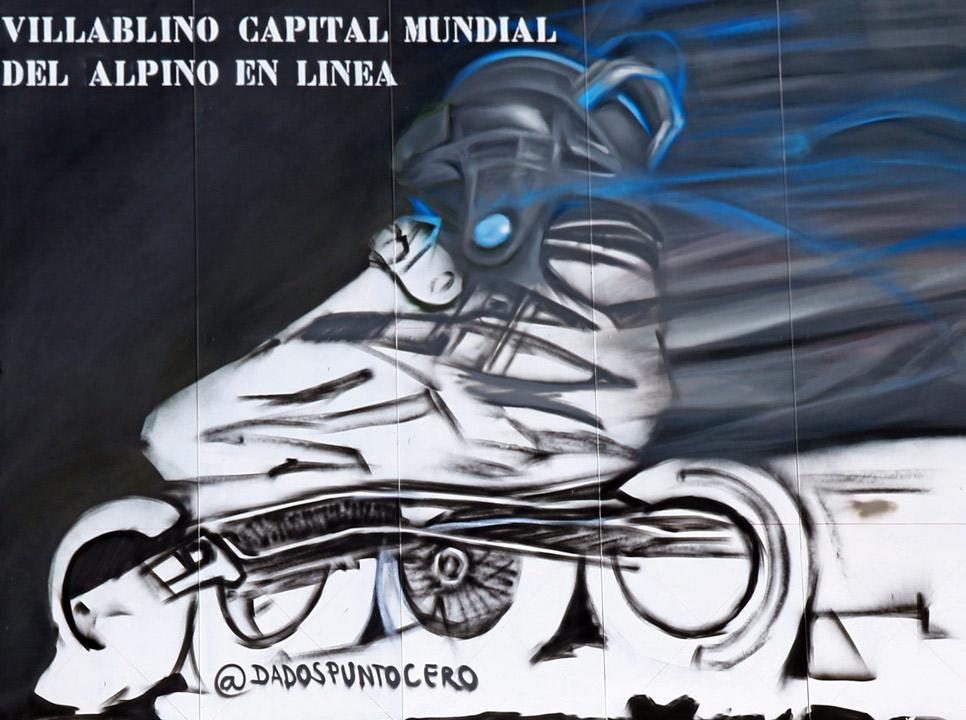 Villablino Capital Mundial del Alpino en Línea